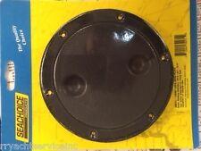 DECK PLATE TWIST LOCK SEACHOICE BLACK 39271 5-5/8-OD BOATINGMALL EBAY BOAT PARTS