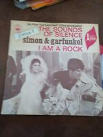 DISQUE 45 T SIMON GARFUNKEL THE SOUND OF SILENCE