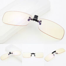 2018 Computer Eyewear Glasses Anti Blue-Light UV Protection Clip-On Lens Glasses