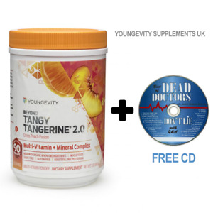 Beyond Tangy Tangerine Citrus Peach 2.0.Organic Multi Vitamin FREE 2 DAY POST