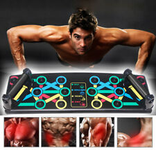 14 in1 Push Up Board Rack for Core Training Gym Exercise Pushup Stand Foldable