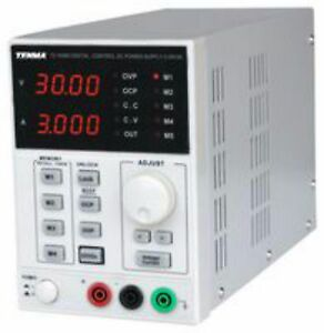 bench power supply 0-30V 0-3A LED display single output fully adjustable LAB PSU