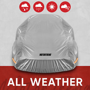 Motor Trend All Weather Waterproof Car Cover - Advanced Protection Formula 228""