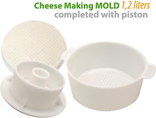 Cheesemaking Kit Butter Punched Ð¡heese Mold Press Strainer cheese With Follower