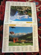 calendrier almanach du facteur la poste - 2006 - Haute Savoie, massifs montagne