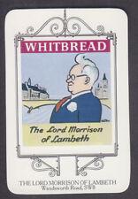 Whitbread - Inn Signs London 1973 - # 9 Lord Morrison Of Lambeth - Lambeth Road
