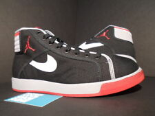 2010 Nike Air Jordan SKY HIGH CANVAS AJKO 1 BRED BLACK RED WHITE CEMENT GREY 10