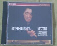 Mozart - 4 Piano Sonatas Mitsuko Uchida W. German Philips CD Full Silver No IFPI