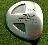 Titleist Pro Trajectory 975F 3 Wood 14.5* / RH / Ei-70 Regular Graphite / mm2204