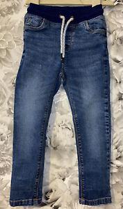 Boys Age 3-4 Years - Soft Waistband Jeans