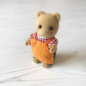 Sylvanian Families Spares   Sainsbury's Shop Owner John J Sainsbury Bear Figure