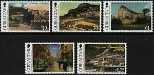 Gibraltar 2013 - Old Gibraltar Views Series III - Set of 5 - MNH