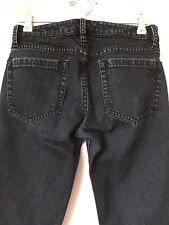 BCBG MAXAZRIA Women's Jeans Agnes Bootcut Black/Blue Size 27 Cotton Spandex