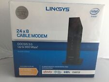 NEW Linksys CM3024 High Speed 24 x 8 Cable Modem DOCSIS 3.0 Up to 960 Mbps