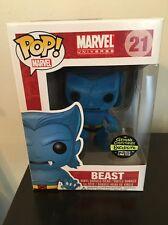 Beast Funko Pop Gemini Exclusive Flocked Variant Limited 240 X-Men Marvel Comics