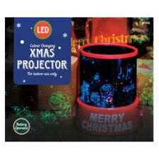 Luci di Natale proiettori multicolori