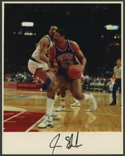 JAMES EDWARDS signed original 8x10 photo (PISTONS - AUTOGRAPH)