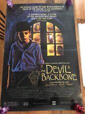 Original autographed THE DEVIL'S BACKBONE SS Movie Poster - Guillermo Del Toro