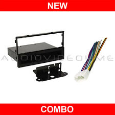 Radio Car Stereo CD Player Installation Dash Trim Kit+Wiring Harness for Accord
