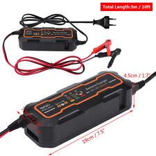 Caricabatterie Mantenitore automatico Batteria 6V/12V 5A + cavetti per auto moto