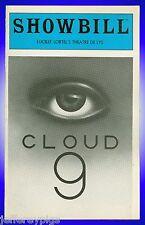 Playbill + Cloud 9 + Zeljko Ivanek, Don Amendolia, Veronica Castang, Jeffrey Jon
