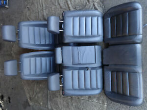 VW Volkswagen Touareg 7L 2002-2007 Full leather interior front + rear seats
