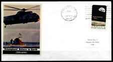 Apollo 12. Rückkehr zur Erde 24.11.1969, Wasserung. SoSt-Brief(1). USA 1969