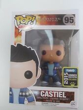 SDCC Comic Con 2015 Funko Pop Supernatural French Mistake Castiel EXCLUSIVE
