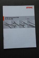 Reparaturanleitung für Stihl Komponenten 4140 FC, FS, HL, KM