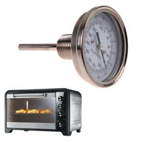 """1/2"""" NPT Threaded Stainless Steel Thermometer for a Moonshine Still Cond"""