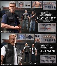 """PCS SONS OF ANARCHY JAX AND CLAY EXCLUSIVE 12"""" 1/6 ACTION FIGURE NEW IN HAND US"""