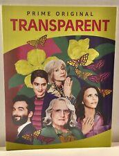 TRANSPARENT Complete Season 4 Amazon Prime 2 DVDs 10 Episodes FYC 2018 Emmy