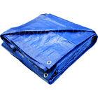 Reinforced Polyethylene Tarp, 30' x 40', Blue