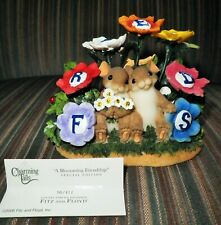 "Charming Tails ""A Blossoming Friendship"" Special Edition Figurine #98/411"