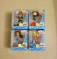 "DC Super Hero Girls 3"" Mini. Lot Of 4. Brand New."