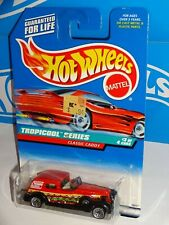 Hot Wheels 1998 Tropicool Series #695 Classic Caddy Red w/ WSPs