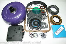 700R4 85-86 Transmission Rebuild Kit Torque Converter Transgo SK-700jr Shift Kit