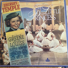THE LITTLE PRINCESS - SHIRLEY TEMPLE  Extended play Laserdisc  LVD9301