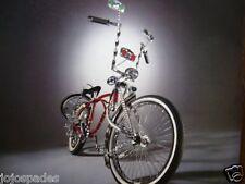 """2002 Wendy's Ad-Customized BMX Bike-8.5 x 10.5"""""""