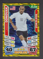 Match Attax England 2014 - Star Player - 237 Landon Donovan - United States
