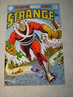 STRANGE ADVENTURES #221 COVER ART original approval cover 1970'S ADAM STRANGE!