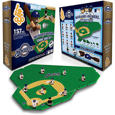 MILWAUKEE BREWERS GAMETIME FIELD SET 10 FIGURES TRAINER CART JONATHAN LUCROY OYO