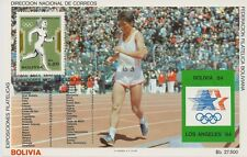 Bolivia 1984 - Sports Summer Olympics Los Angeles Medals Winners - MNH