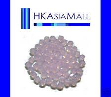 20 Swarovski Crystal Beads 5301 ROSE WATER OPAL 6mm