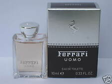 Ferrari Uomo EDT Mini 10 ml 0.33 fl oz Travel Size - New In Box