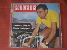 FAUSTO COPPI DISCO FRANCESE 1960 SONORAMA CON ALBO FOTO RICORDO