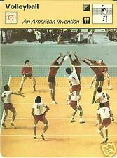 AMERICAN VOLLEYBALL 1977 FOCUS ON SPORTS CARD