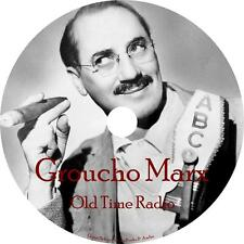 Groucho Marx You Bet Your Life Old Time Radio Show OTR 253 Episodes on 1 MP3 DVD