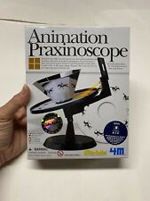 4M Kidzlabs For Science Products Animation Praxinoscope-optical science kit New!