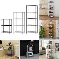 3/4/5 Tier Wire shelving Metal Wire Shelf Kitchen Flatware Storage Display Rack